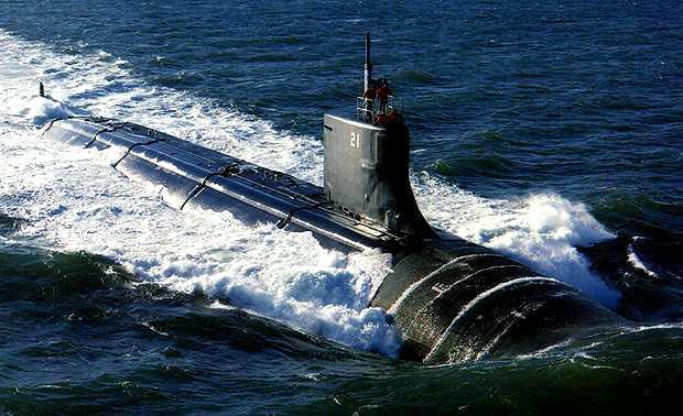 USS Seawolf SSN-21